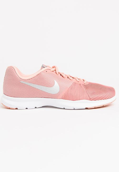 49671ecd06c2 Nike Flex Bijoux Training Sneakers Pale Pink Nike Trainers ...