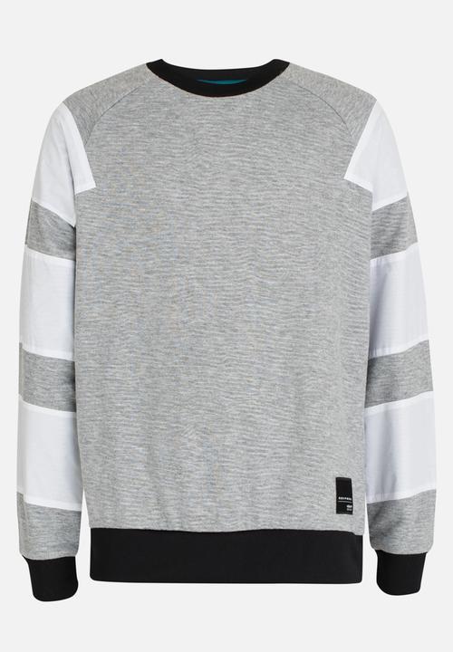30060453c942 J EQT Crew Sweatshirt Grey adidas Originals Jackets   Knitwear ...
