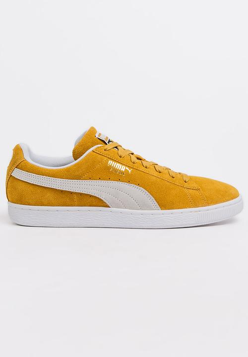 Suede Classic Sneakers Yellow PUMA