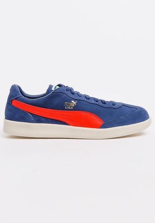 3fb8e724a80358 Liga Suede Sneakers Blue PUMA Sneakers