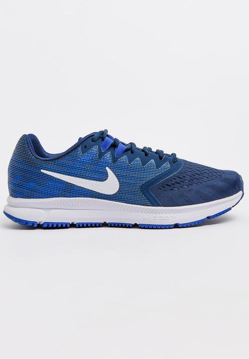 664f3fd4db7 Nike Zoom Span 2 Runners Navy Nike Trainers