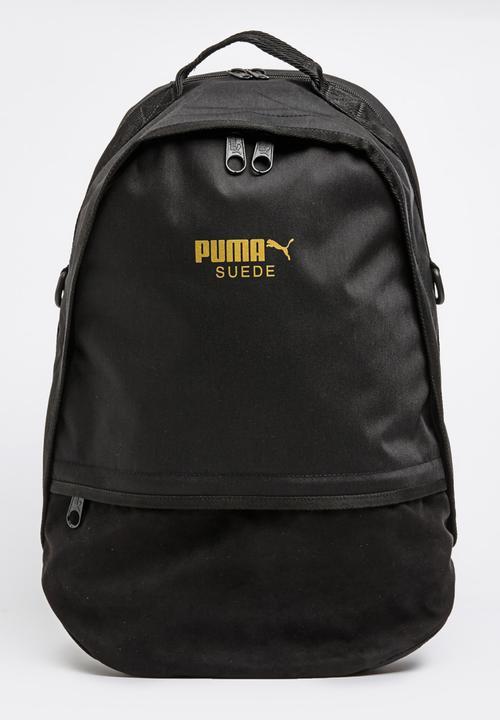 f43fec5fc3 Puma Suede Backpack Black PUMA Bags   Wallets