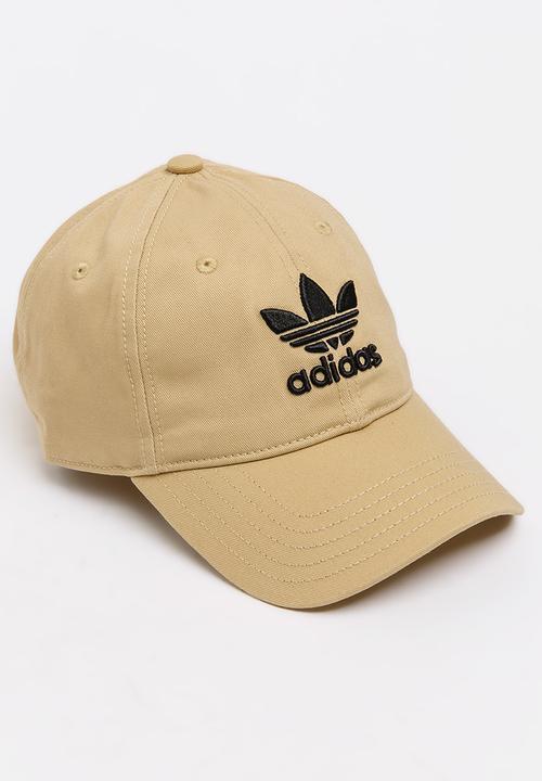 ef562923791 Trefoil Classic Cap Beige adidas Originals Headwear