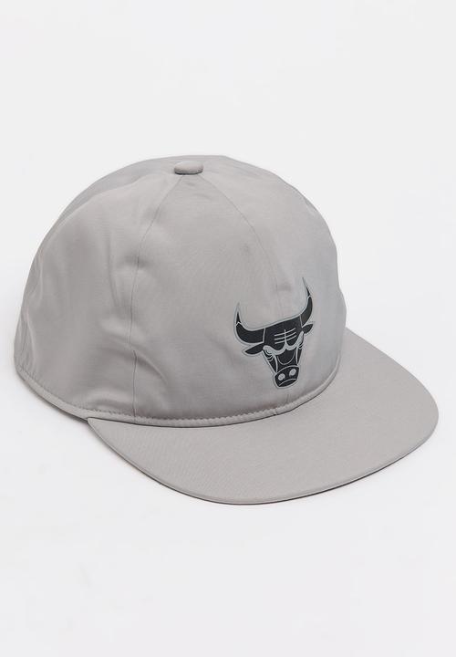 cb4b7825ae62b adidas NBA Chicago Bulls Snapback Grey adidas Originals Headwear ...