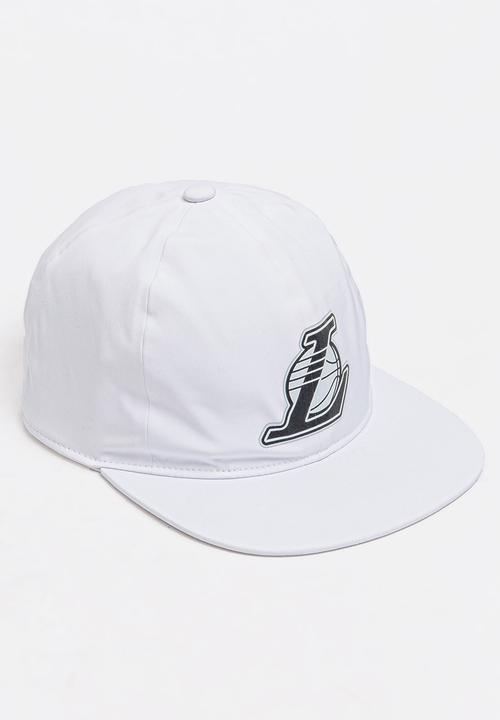 ab6bc9a82eb adidas NBA Los Angeles Lakers Snapback White adidas Originals ...