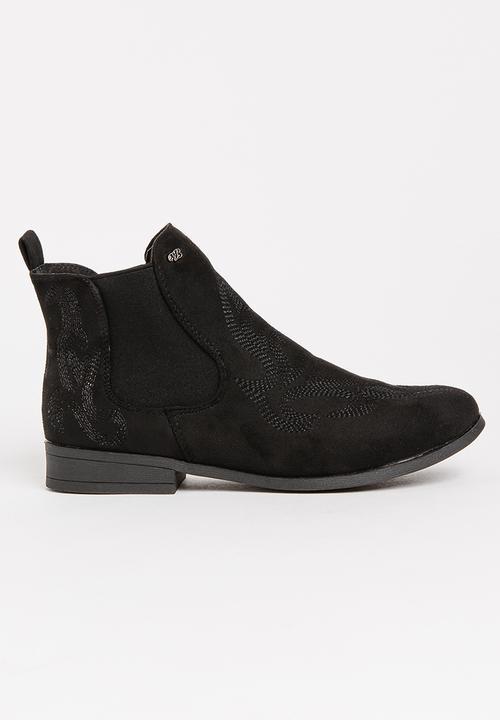 f8ac5f2072a0 Fallon Ankle boots Black Miss Black Boots