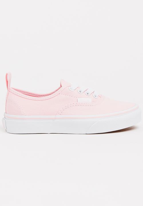 9513b25b1a2b Authentic Elastic Lace Pale Pink Vans Shoes