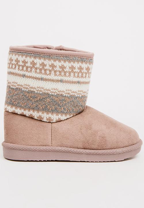 2a546c6d3 Aztec Detailed Boots Stone Foot Focus Shoes | Superbalist.com