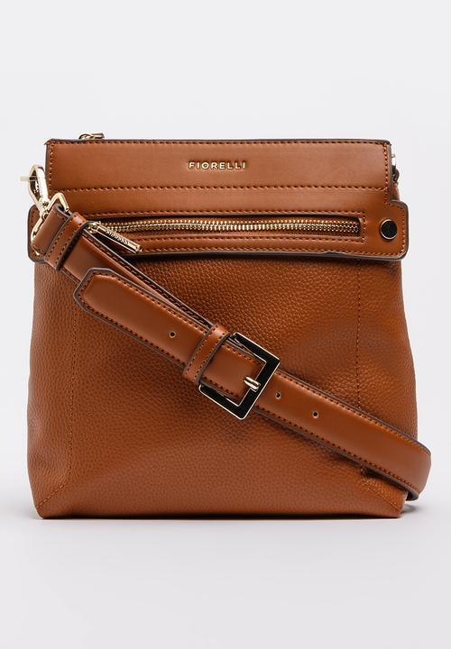 5de4825d10 Abbey Crossbody Bag Tan Fiorelli Bags   Purses