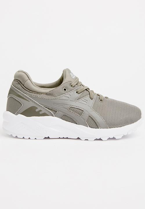 d5a06ef55 Gel-Kayano Trainer EVO PS Sneaker Grey Asics Tiger Shoes ...