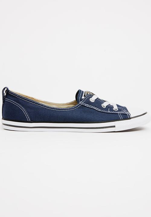 b6bb78cd5523 Chuck Taylor All Star Ballet Sneakers Navy Converse Sneakers ...
