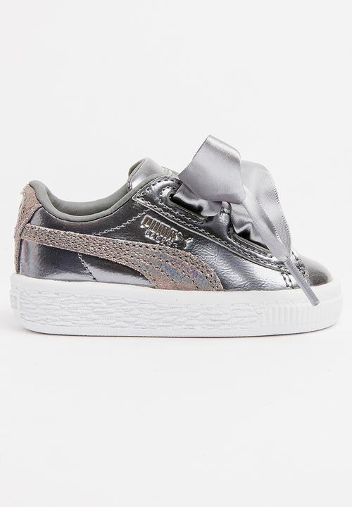 pretty nice 1333a 0c89a Puma Basket Heart Lunar Lux Sneaker Pearl