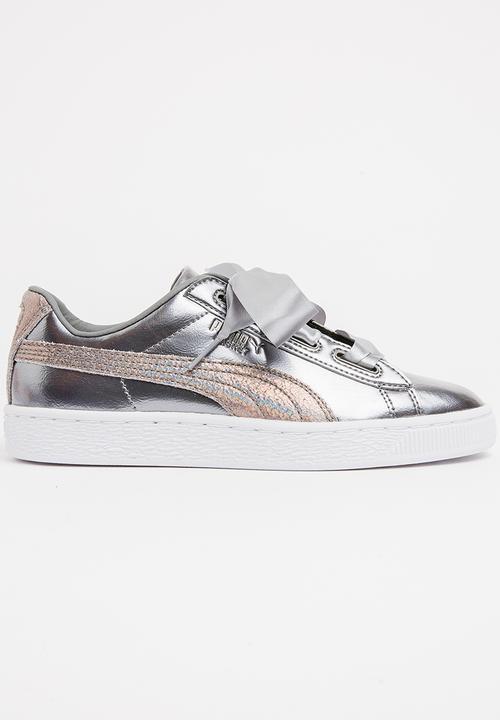 timeless design 788fe 272eb Puma Basket Heart Lunar Lux Sneaker Dark Grey