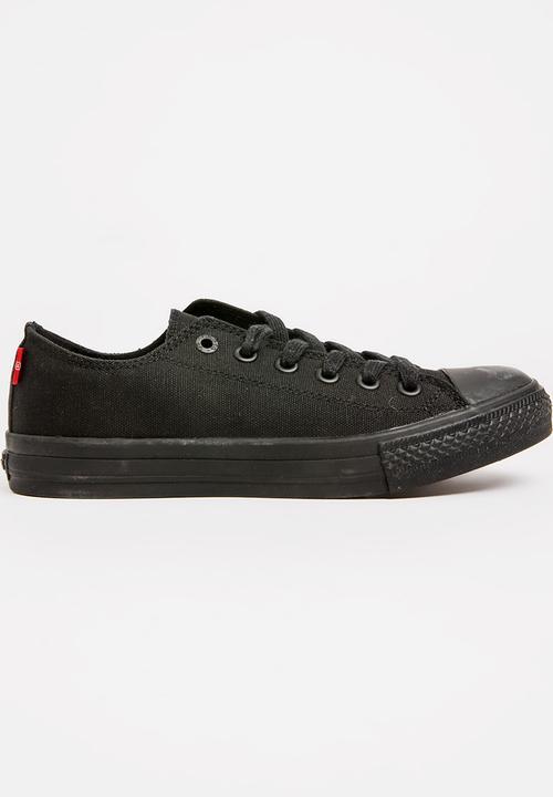 Pitch Lo Mono Sneakers Black Levi s® Pumps   Flats  edaa8fe6eec