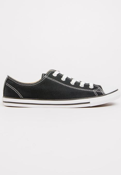 ed16967167dd79 Chuck Taylor All Star Dainty Sneakers Black Converse Sneakers ...
