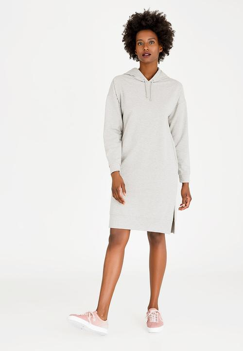 bf3494b1703 Oversized Sweater Dress Grey c(inch) Casual