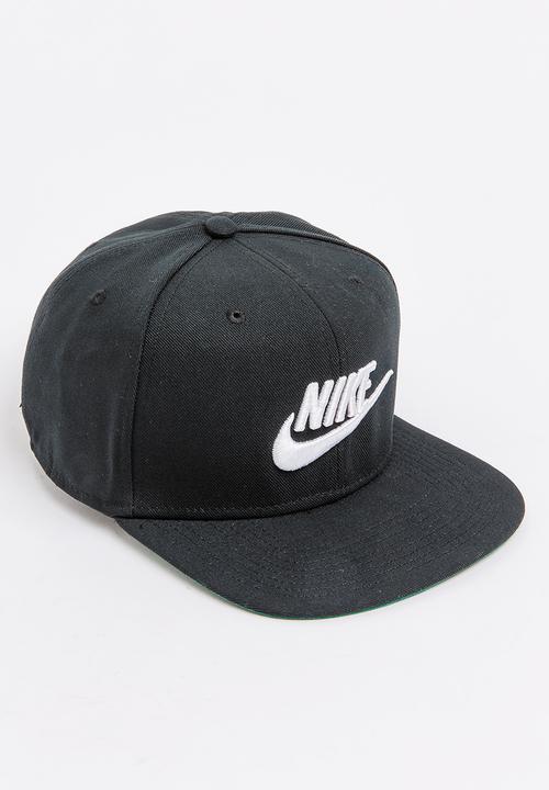 324f75d585a Nike Pro Cap Futura Black and White Nike Headwear