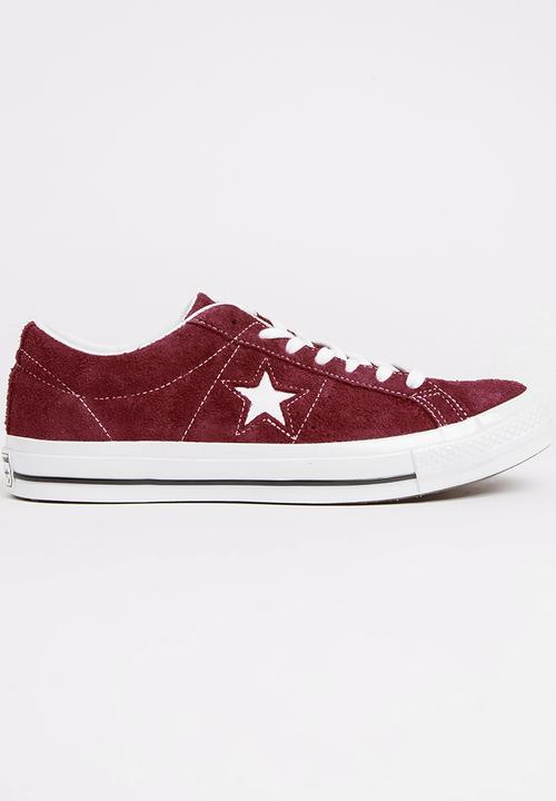 a38897183f6 ONE STAR - OX - DEEP BORDEAUX/WHITE/WHITE -158370C Converse Sneakers ...