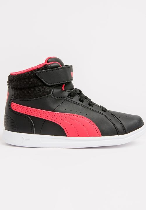 Ikaz Mid v2 V PS Sneaker Black PUMA Shoes  a6b2ec9da