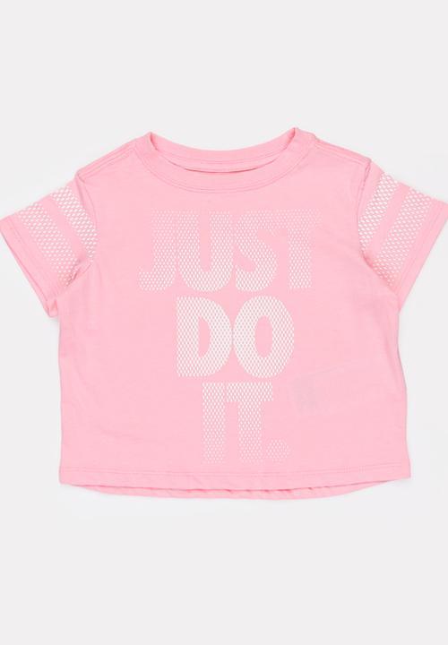 b4f2caef1e1c Nike NSW Scoop JDI Tee Mid Pink Nike Tops