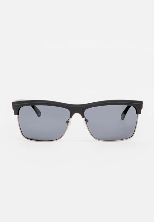 937ba3d9d4 Half Frame Sunglasses - Black STYLE REPUBLIC Eyewear