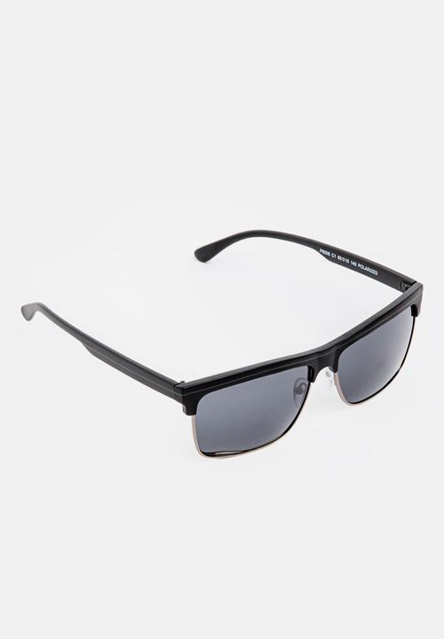 bd37586898 Half Frame Sunglasses Black STYLE REPUBLIC Eyewear