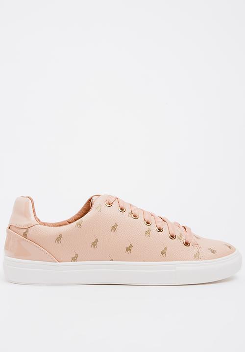 Ava Monotone Sneakers Pale Pink POLO