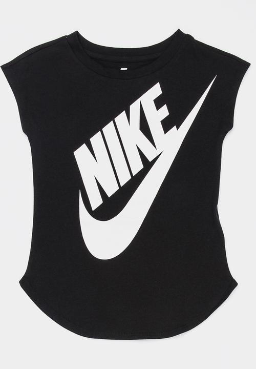 ba9023b2 Nike Jumbo Futura Tee Black Nike Tops | Superbalist.com