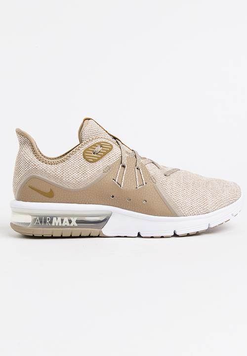 Nike Air Max Sequent 3 Sneakers Tan Nike Sneakers  d326fb37c242