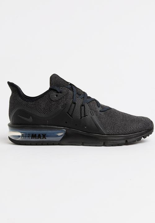 8764ab3827 Nike Air Max Sequent 3 Sneakers Black Nike Sneakers | Superbalist.com