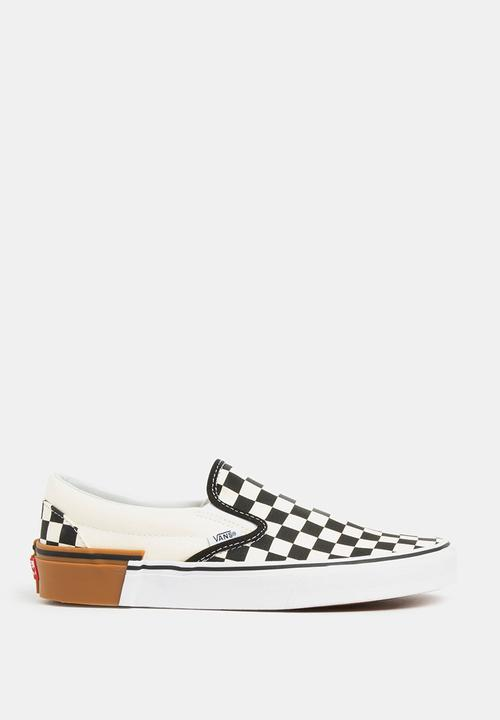 314d4872888 Classic checkerboard slip-ons - black   white Vans Sneakers ...