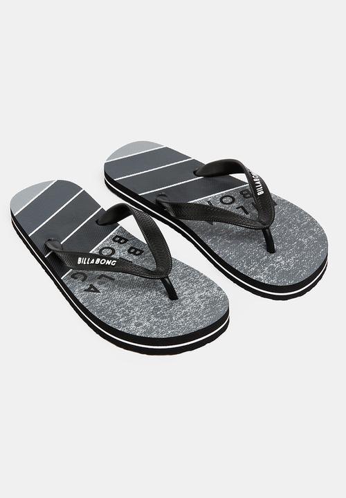 e2a5c4e7266e16 Northpoint thong flip flop - grey Billabong Shoes