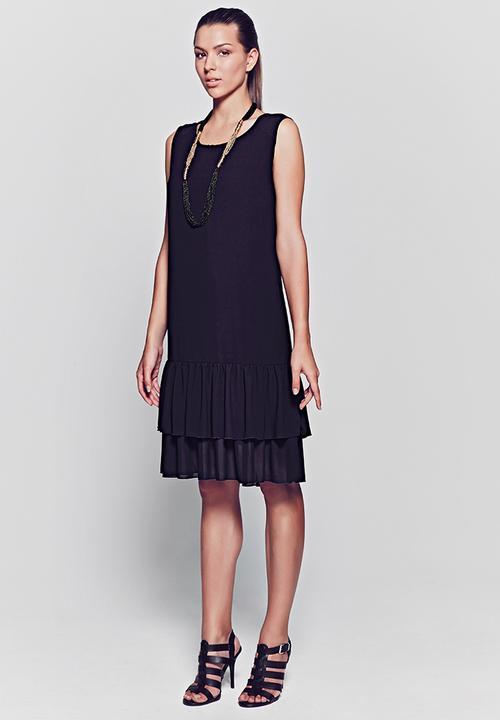 3d27998198c Flap Dress Black HABITS Formal
