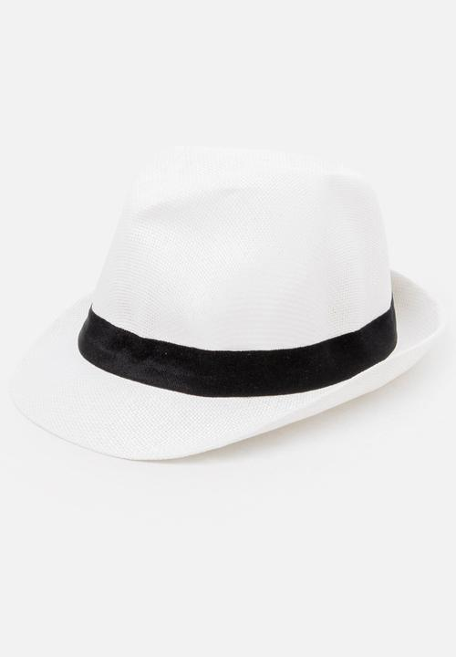Classic Trilby White STYLE REPUBLIC Headwear  0b3cd8a4767