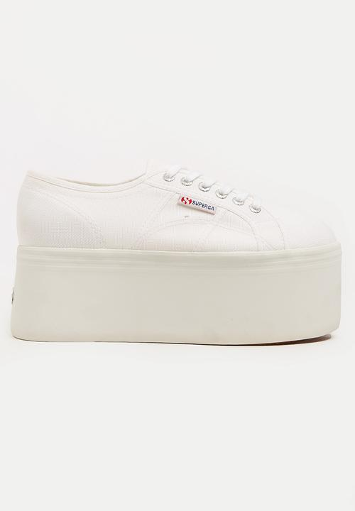a4fbba3a389b 2808 COTU Mega wedge - S00CDF0-901 - white SUPERGA Sneakers ...