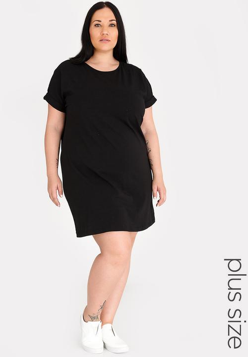 f7d0806e02 Boxy Tshirt Dress Black STYLE REPUBLIC PLUS Dresses   Superbalist.com