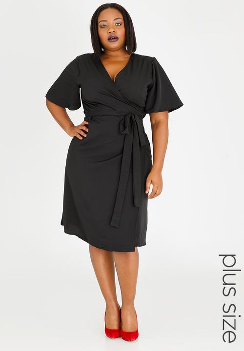 9d010d8e5ba5 Wrap Dress Black edit Plus Dresses | Superbalist.com