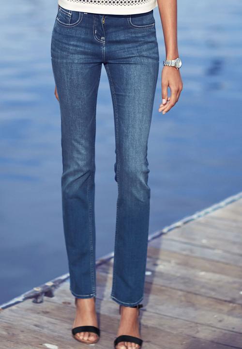 42bfdc8d266a High-waist Enhancer Slim Jeans Mid Blue Mid Blue Next Jeans ...