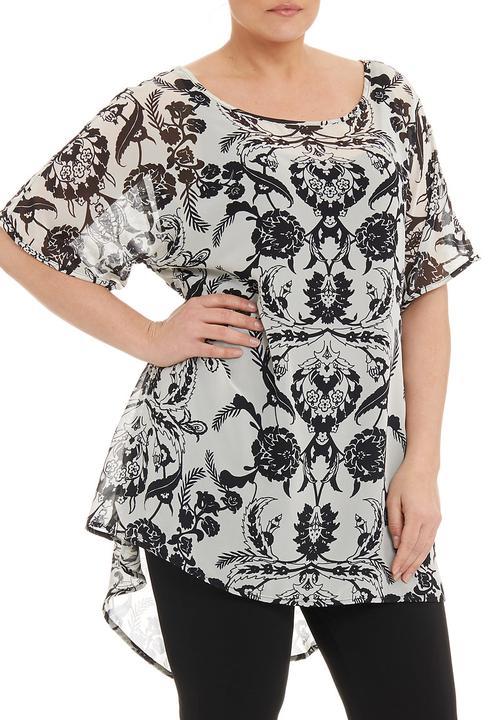 60618f4ac93 Isabel de Villiers - Floral kaftan tunic