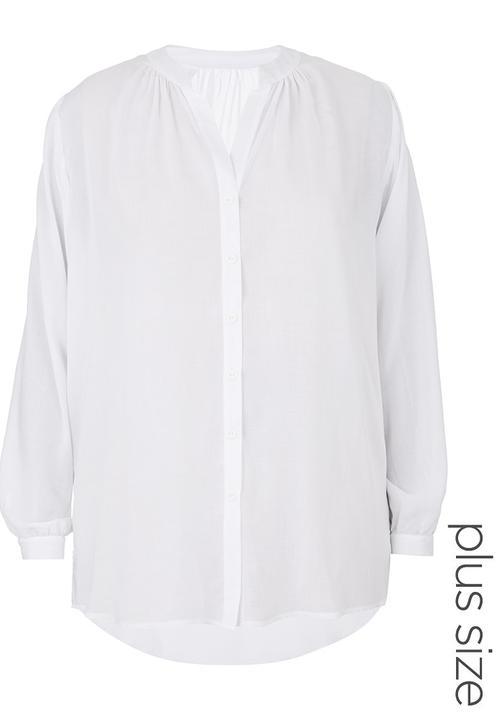 abbb0e1fce91d Gypsy Shirt White Megalo Tops