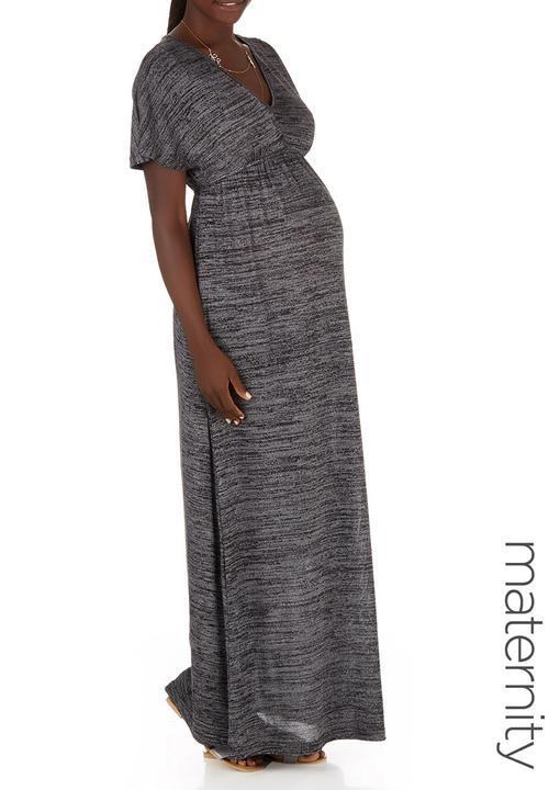 b093194353 Cut and Sew Maxi Dress Black edit Maternity Dresses   Jumpsuits ...