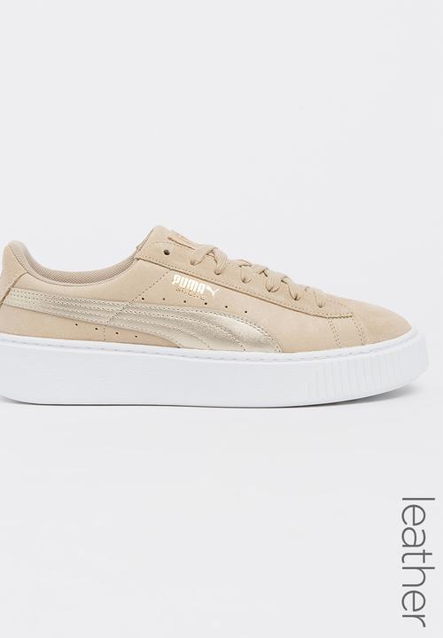 2f4f192c7c32 Puma Suede Platform Safari Sneakers Neutral PUMA Sneakers ...