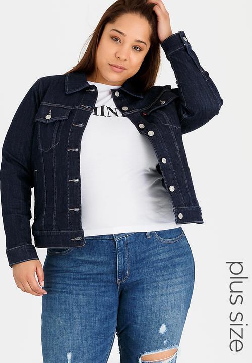 e074bd5d90868 Original Trucker Jacket Dark Blue Levi s® Jackets   Coats ...