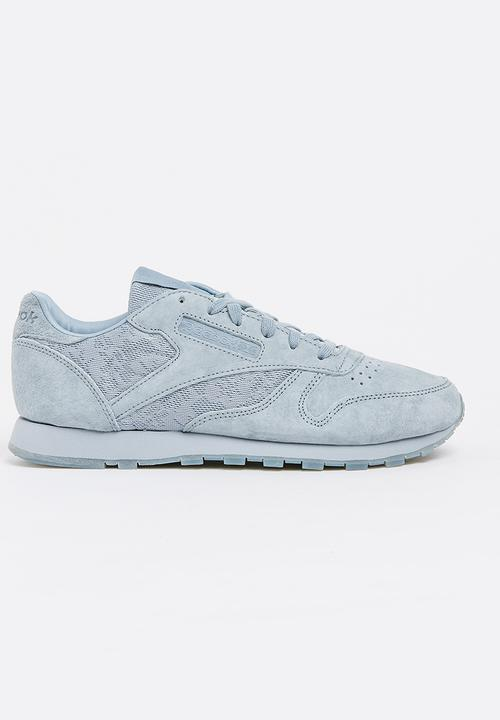 f3338292efc Classic Leather Lace Pale Blue Reebok Classic Sneakers