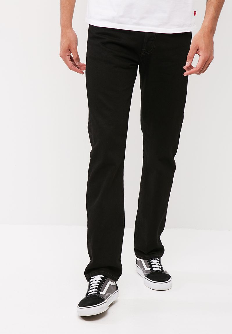 Levis 501 original straight black