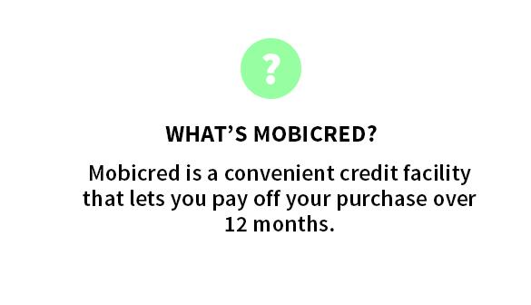 WHAT'S MOBICRED?