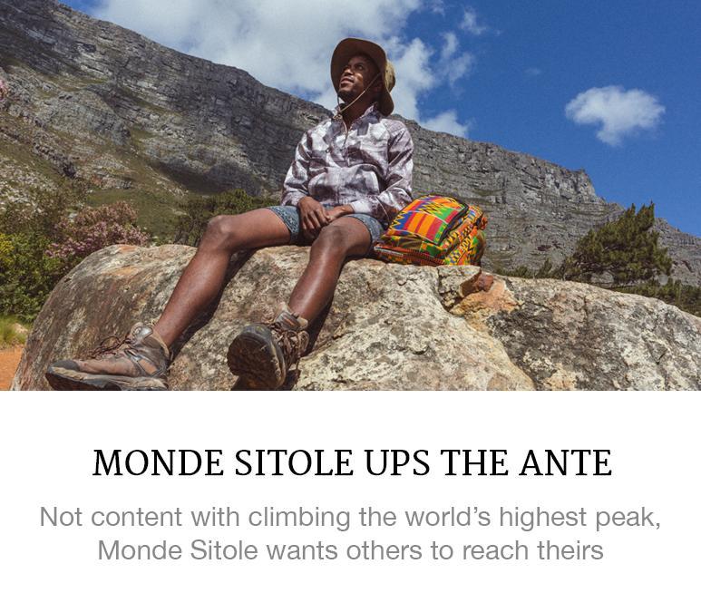 Monde Sitole Ups the Ante