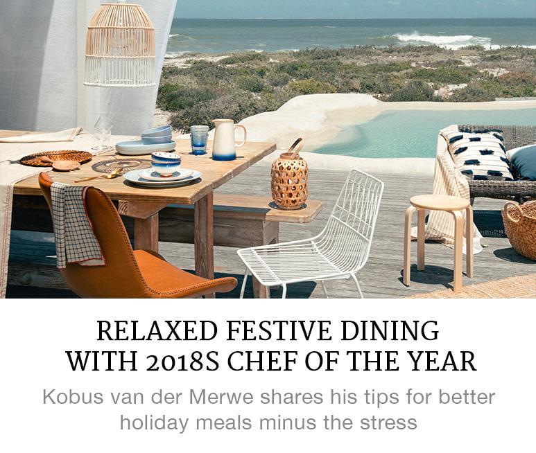 Kobus van der Merwe's dining tips
