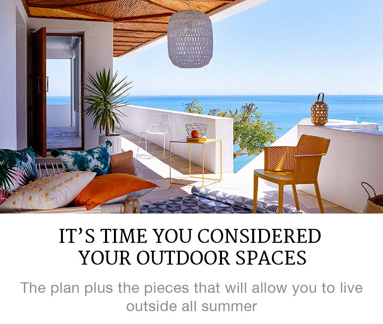 considered outdoors spaces