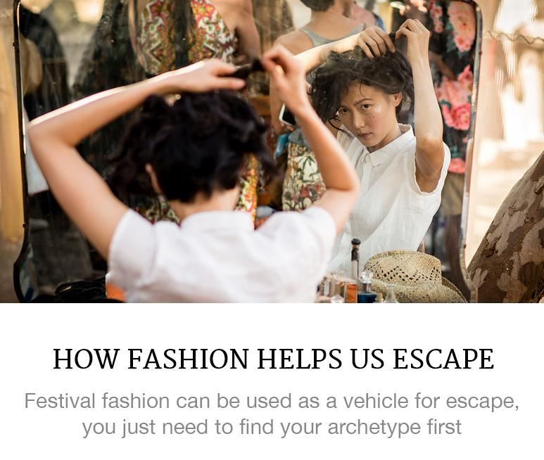 How Fashion Helps Us Escape